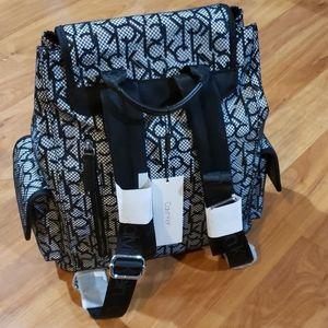 Calvin Klein Tali Nylon Mesh Backpack